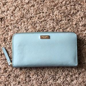 Handbags - Kate Spade light blue wallet